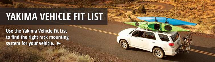 Yakima Vehicle Fit List